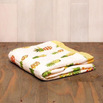 Picture of Bamboo Muslin Quilt - Pineapple