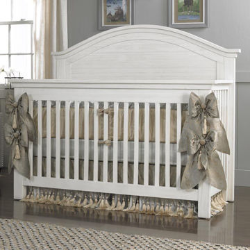 Picture of Panel Convertible Crib - Lucca - Shell