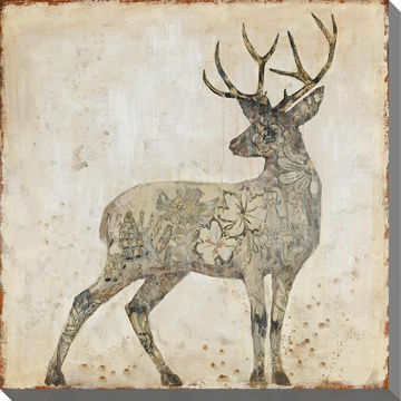 Picture of Stag In Natural 32X32