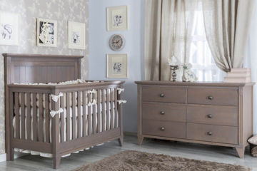 Picture of Edison Cappuccino Three Piece Nursery Set