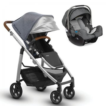 Picture of Uppa Cruz + Nuna Pipa Travel System