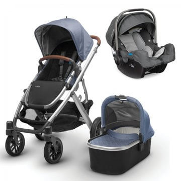 Picture of Uppa Vista + Nuna Pipa Travel System