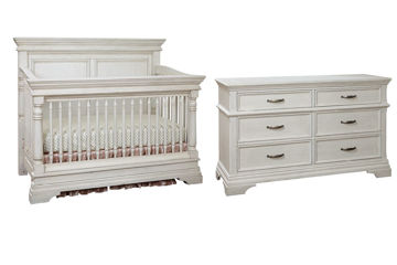 Picture of 2 Piece Nursery Package - Kerrigan - Rustic White