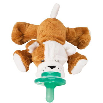 Picture of Barkley Bull Dog Shakies - Paci Plushie