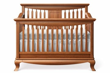 Picture of Antonio Slat Back Crib