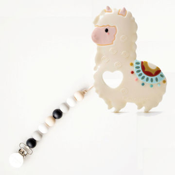 Picture of Llama Teether with Black Neutral Holder