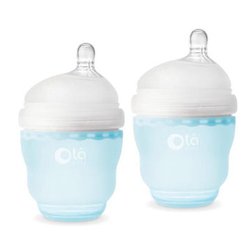 Picture of Gentle Bottle - 4oz 2pk - Sky