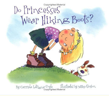 Picture of Do Princesses wear Hiking Boots - Hardcover