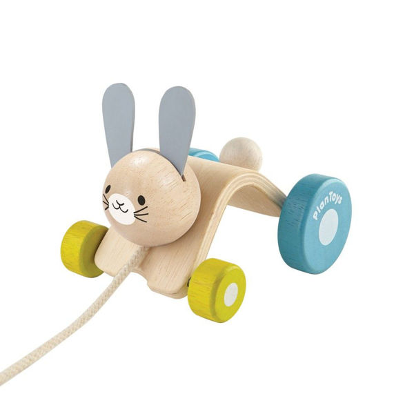 Picture of Hopping Rabbit - by Plan Toys