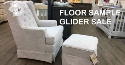 Floor Sample Glider Sale - 2018
