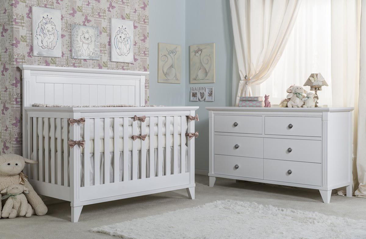 Picture of Edison 6 Drawer Dresser White