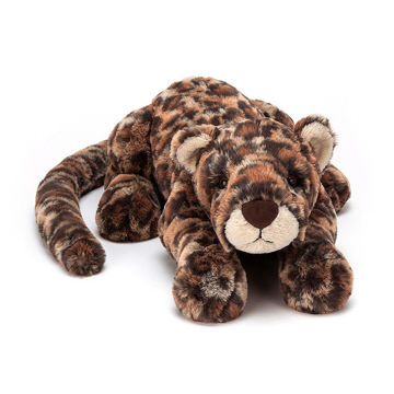 "Picture of Livi Leopard - Medium 11"" - Beautifully Scrumptious by JellyCat"