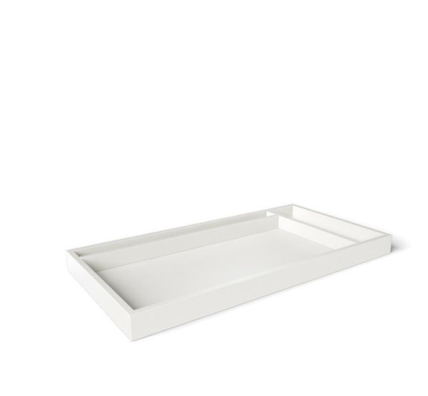 Picture of Silva Adjustable Changing Tray - White