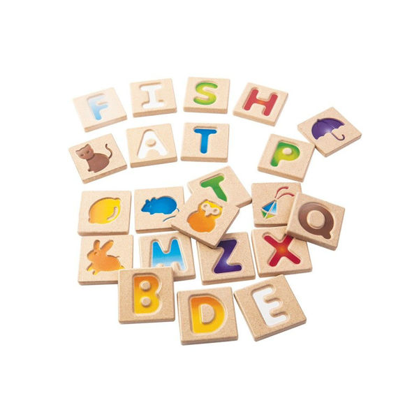 Picture of Alphabet A-Z (Gradient) - by Plan Toys