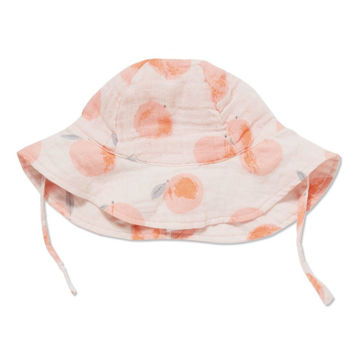 Picture of Sunhat 12-24 - Peachy - Muslin