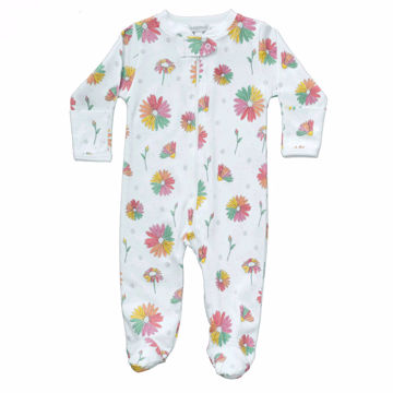 Picture of Noomie Zipper Footie Daisies