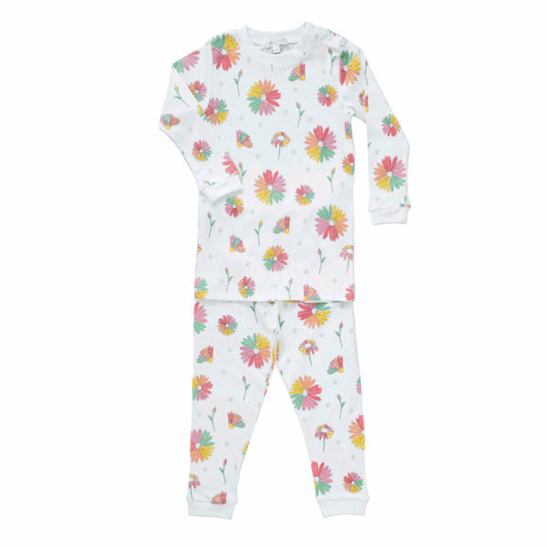 Picture of Noomie Two Piece PJ Set Daisies
