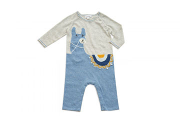 Picture of Alpaca Coverall - Blue (3-6)