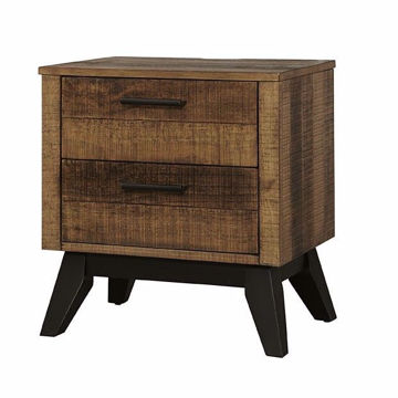 Picture of Urban Rustic Nightstand - Brushed Wheat
