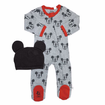 Picture of Finn & Emma Mickey Footie & Hat Set