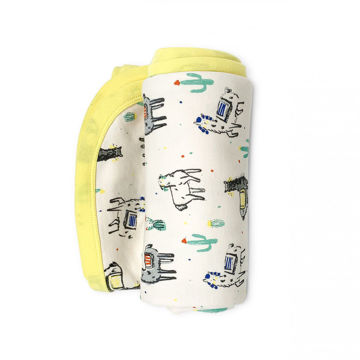 Picture of Finn & Emma Swaddle Blanket - Llama