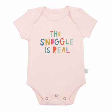 Picture of Finn & Emma Pink Snuggle Bodysuit