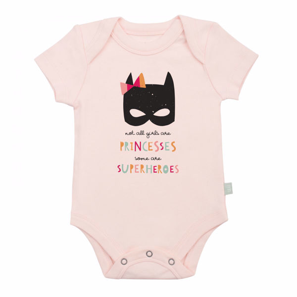 Picture of Finn & Emma Pink Superhero Princess Bodysuit