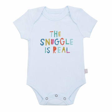 Picture of Finn & Emma Blue Snuggle Bodysuit