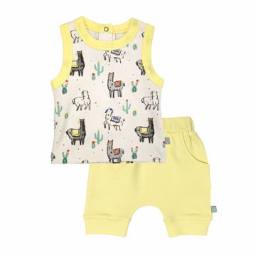 Picture of Finn & Emma Llama Tank Tee Set