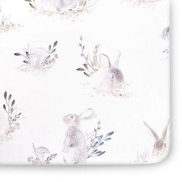 Picture of Cottontail Jersey Crib Sheet