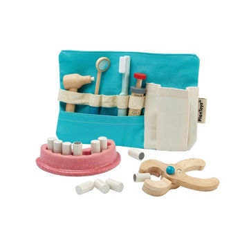 Picture of Dentist Set - by Plan Toys