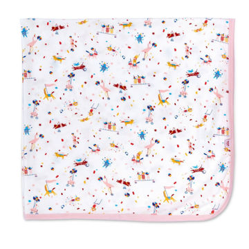 Picture of Pink Carnivale Modal Swaddle Blanket