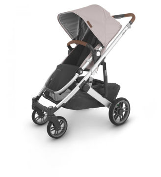Picture of Uppa Baby CRUZ V2 Stroller- ALICE (dusty pink/silver/saddle)