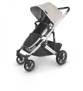 Picture of Uppa Baby CRUZ V2 Stroller - SIERRA (dune knit/silver/black)