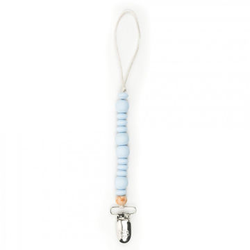 Picture of Pastel Blue Pacifier Clip