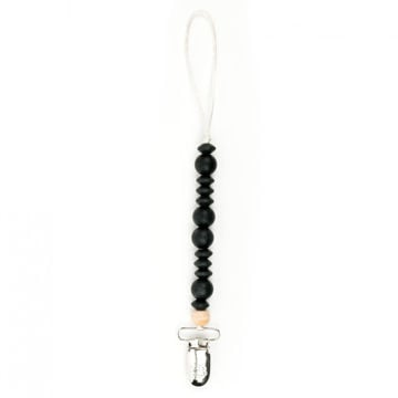 Picture of Black Pacifier Clip