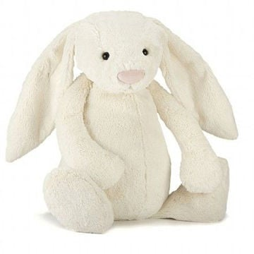 Picture of Bashful Cream Bunny - Really Big - 26""