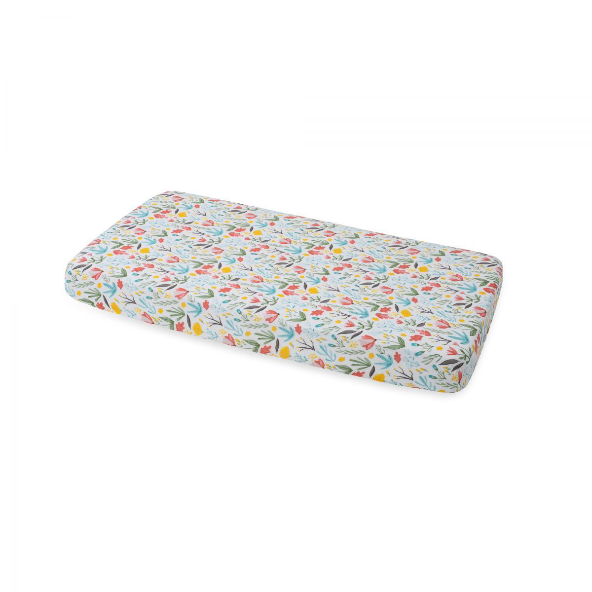 Picture of Cotton Muslin Crib Sheet - Meadow by Little Unicorn