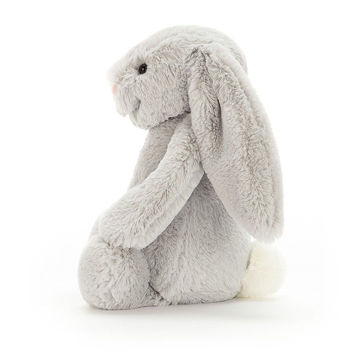 Picture of Bashful Grey Bunny - Medium - 12 x 5