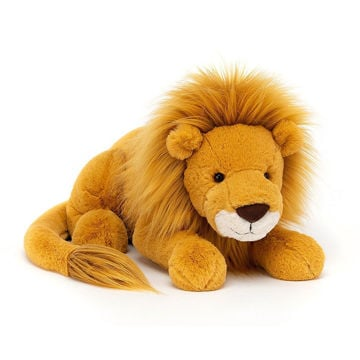 "Picture of Louie Lion - Large - 6"" x 21"" - Beautifully Scrumptious by JellyCat"