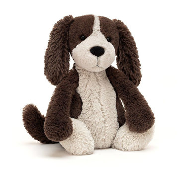 "Picture of Bashful Fudge Puppy - Medium 12"" x 5"" - by Jellycat"