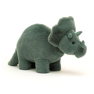 "Picture of Fossily Triceratops - 7"" x 4"" - by Jellycat"