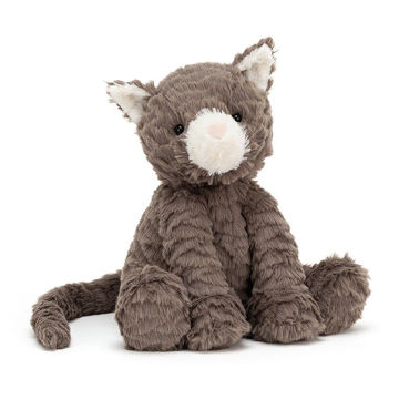 "Picture of Fuddlewuddle Cat - Medium 9"" x 4"" - by Jellycat"