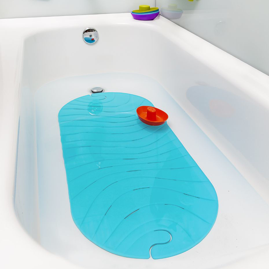 Picture of Ripple Bath Mat Blue