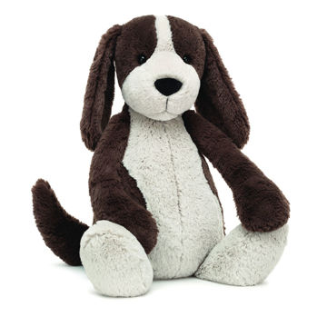 "Picture of Bashful Fudge Puppy - Huge 21"" by Jellycat"