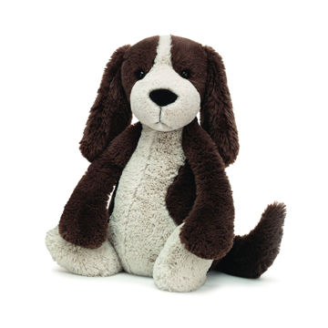 "Picture of Bashful Fudge Puppy - Large 15"" by Jellycat"