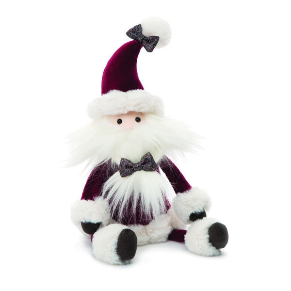 "Picture of Crimson Santa - Large 22"" - Jingle by JellyCat"