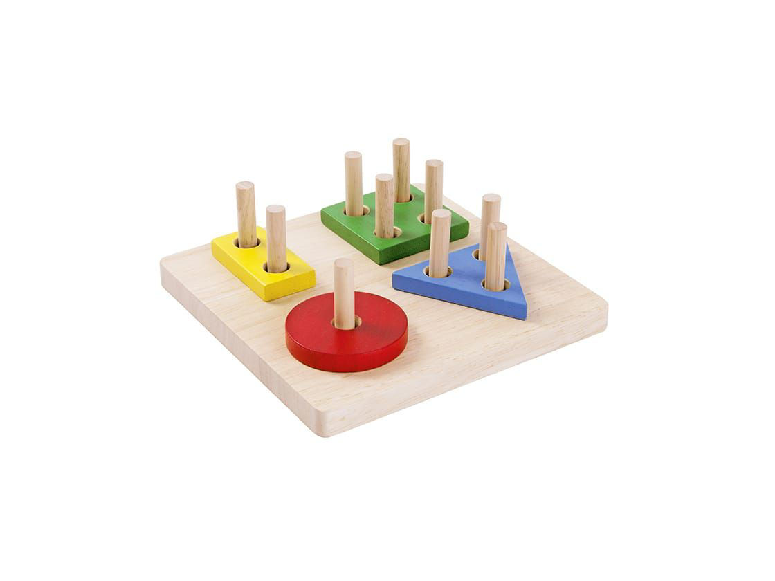 Picture of Geometric Sorting Board - by Plan Toys