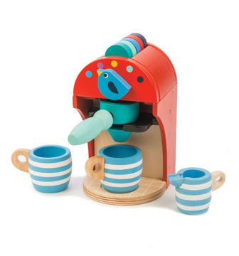 Picture of Espresso Machine - by TenderLeaf Toys