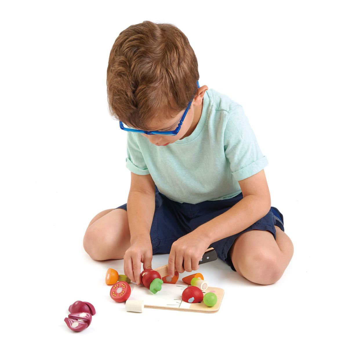 Picture of Mini Chef Chopping Board - by TenderLeaf Toys